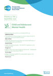 CHILD AND ADOLESCENT MENTAL HEALTH, 26(1) - 2021